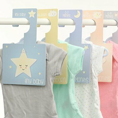 Belo and Me Baby Wardrobe Dividers Set  Sweet Dreams Design Collection  Double