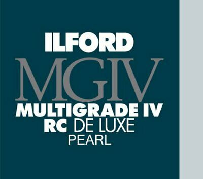 Ilford MGIV RC Deluxe Pearl Size 3.5 x 5 in - 8.9 x 12.7 cm Sheets 100