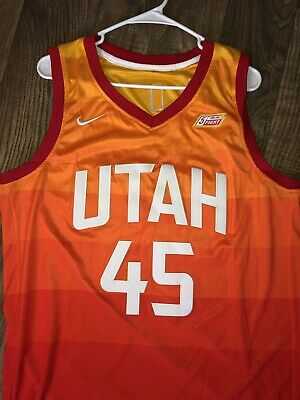 17e236166 NWT DONOVAN MITCHELL  45 Utah Jazz City Edition Jersey -  99.99 ...