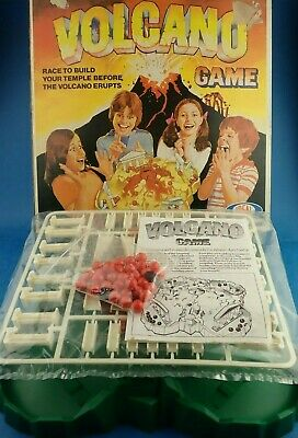 Vintage Game Unused - VOLCANO - Ideal 1980 Boxed Toy Unplayed