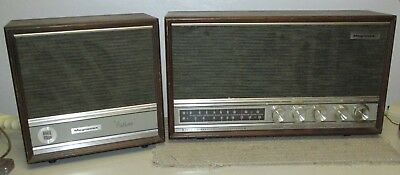 Vintage MAGNAVOX FM 28 AM/FM Tube Radio w/Penthouse Speaker J0719