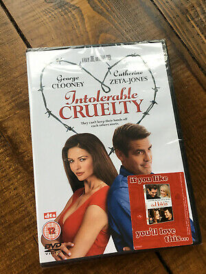 Intolerable Cruelty DVD - Brand New and Sealed - Free Delivery