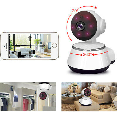 Smart Home Security IP Camera Wi-Fi Wireless IR Night Monitor-Motion Detection