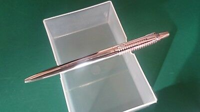 LIMITED EDITION Parker Jotter Premium Stainless Steel CHISEL CT Ball Pen TUBE