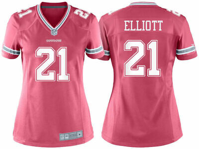 info for f3b4f 8bb7b DALLAS COWBOYS WOMEN'S Ezekiel Elliott Nike Navy Blue Game ...