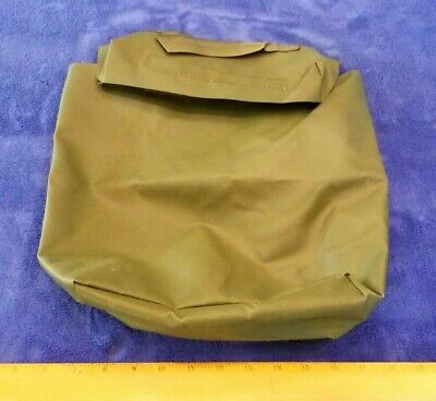 US Military OD Rubberized Document Carry Bag, Truck, Boat, Trailer 11676920, NEW