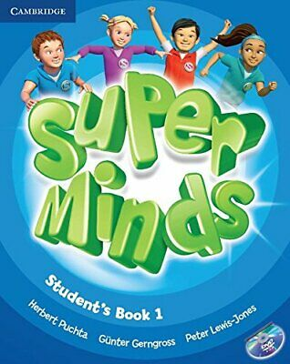 Super Minds Level 1 Students Book with DVD-ROM