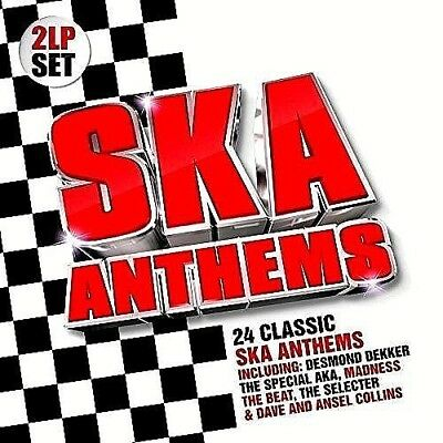 Ska Anthems Desmond Dekker Dave & Ansel Collins Harry J Etc:  2 LP Vinyl Sealed