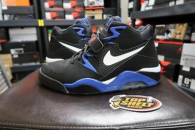 Retro Vtg Vintage Force Size Barkley Vnds 13 Black Blue Nba Air 180 Nike Og sBhQCotxrd