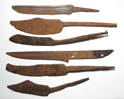 Collection Viking rare forms  Knifes 9-10 Century