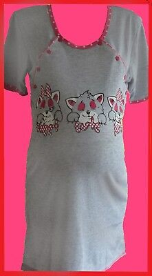 *****LOVELY MATERNITY, NURSING,LABOUR NIGHTDRESS, NIGHTWEAR,PYJAMAS****Size S,XL