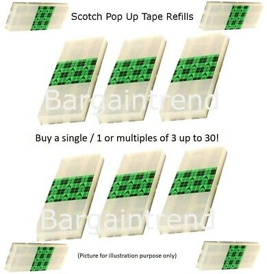 Scotch Pop Up Tape Refill Various Packs (75 Strips/Pad) REPACK #BargainTrend