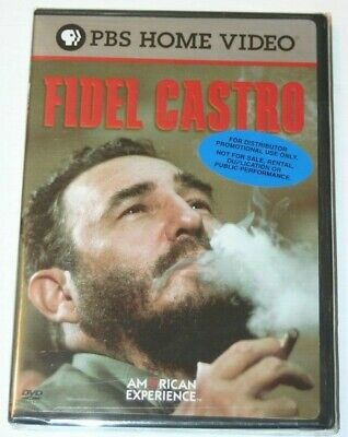 Fidel Castro DVD.  American Experience PBS DVD Video.  BRAND NEW & SEALED