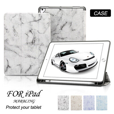 Tri-fold Stand Smart Marble Case for iPad Air 3rd Gen 10.5 2019 Magnetic Cover