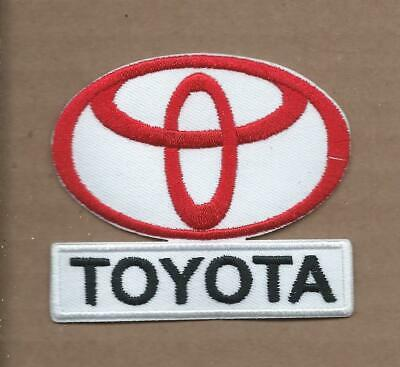 New 2 5/8 X 3 Inch Toyota Iron On Patch Free Shipping