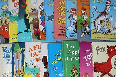 Lot of 10 Dr Seuss Beginner Books & Bright and Early Books! Random/Unsorted