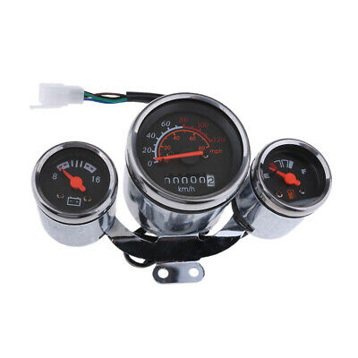 12V Speedometer Gauge Cluster for 49 50cc 125cc 150cc Chinese Scooter Moped