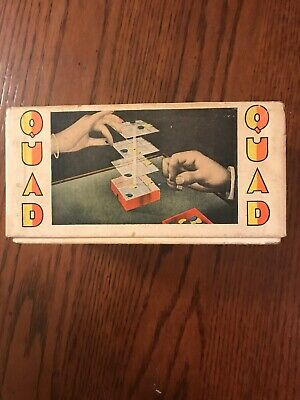 Vintage Three Dimensional Game of QUAD TIC-TAC-TOE 3D BOARD by Gangler Gentry