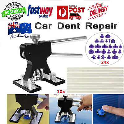 35x Car Paintless Dent Repair Tools Dint Hail Damage Remover Puller Lifter Kit