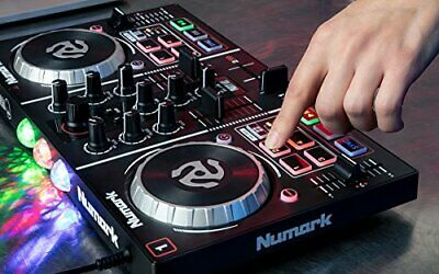Numark Party Mix  Two-Channel Plug-And-Play DJ Controller for Serato DJ Intro w