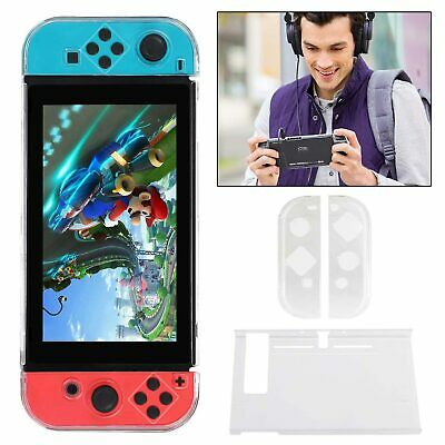 Coque de protection Switch transparente antichoc étui Nintendo Housse portable