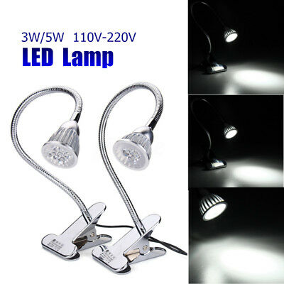 CNC Machine LED Lamp 3W/5W Flexible Clip-on Aluminum Alloy Working Tool 500mm