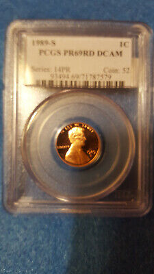 1989-S Lincoln Cent Proof 69 Red DCAM – PCGS #71787579