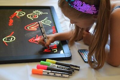 Sensory drawing board, New design Kootchy LED rounded corners, thicker frame.