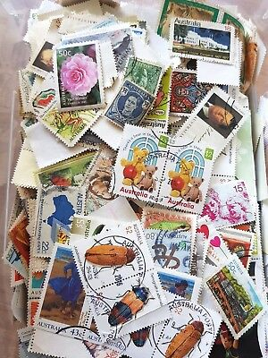 KILOWARE BARGAIN BULK 1000+ STAMPS MIXTURE OFF PAPER APPROX 100gr FREE POST