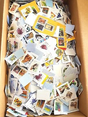 ESTATE 4.8 KG Mixed USED Bulk Kiloware- Australian Stamps On Paper Varies Era*