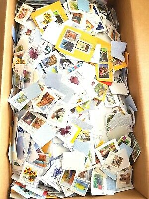 ESTATE 4.8 KG Mixed USED Bulk Kiloware- Australian Stamps On Paper Varies Era**
