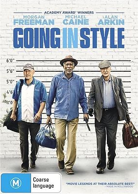 Going In Style (DVD, 2017) Free Postage. Funny movie.