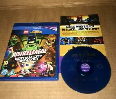 Lego Super Heroes Justice League Gotham City Breakout, BluRay, NEW *Unsealed*