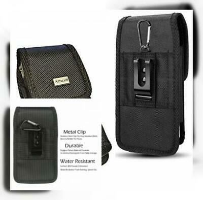d376c2c75a91 AISCELL METAL CLIP Holster Rugged Nylon Pouch Belt Case Fits ...