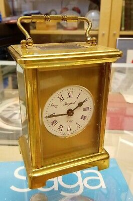 VINTAGE CARRIAGE CLOCK by BAYARD FRANCE 8day for project