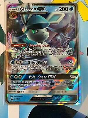 Black Star Promo SM147 Pokemon TCG Glaziola GX