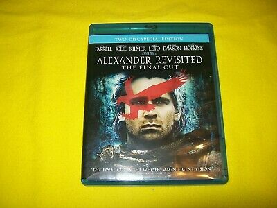 Alexander Revisited Bluray 2 Disc Special Edition The Final Cut Colin Farrell