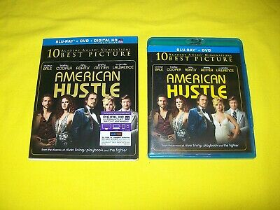 American Hustle Bluray With Slipcover Christian Bale Bradley Cooper Amy Adams