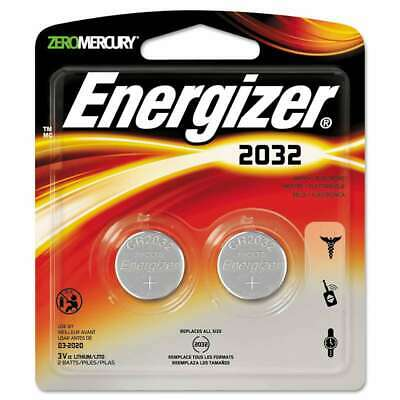 Energizer® Watch/Electronic/Specialty Battery, 2032, 3V, 2/Pack 039800066114