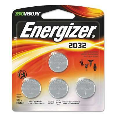 Energizer® Watch/Electronic/Specialty Battery, 2032, 3V, 4/Pack 039800117274