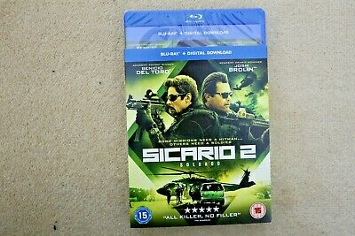 Blu-Ray   Sicario 2           Brand New Sealed Uk Stock