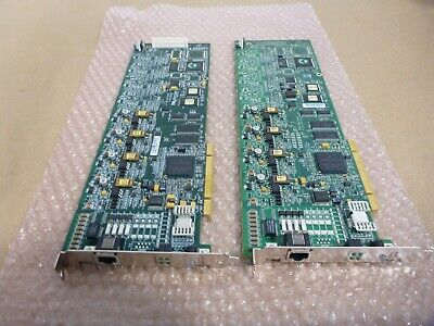 LOT of 2x - Dialogic  Brooktrout Fax Cards