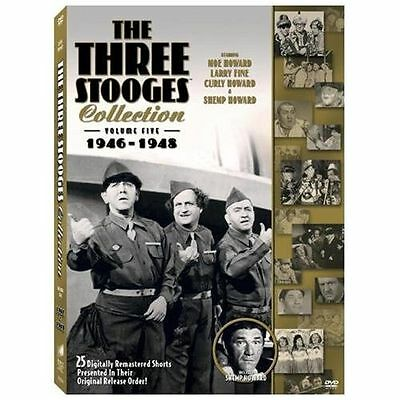 The Three Stooges Collection, Vol. 5: 1946-1948 DVD, Shemp Howard, Moe Howard, L