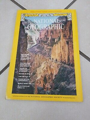 National Geographic Magazine - Vol 154 #1 July 1978 The Grand Canyon