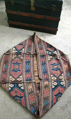 A very fine Shahsavan Mafrash handmade Persian cargo bag multicoloured...