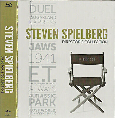 Steven Spielberg:Directors Collection(8 Blu-ray box set,2014) Jaws,Duel,Jurassic