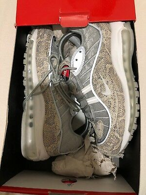 wholesale dealer 1d3bc 27c00 Supreme Air Max 98 Snake Skin Uk 5.5