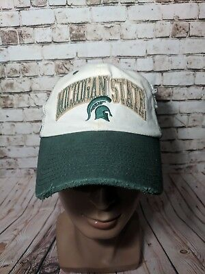 sports shoes d23b2 e1cd6 Michigan State Spartans NCAA Top of the World Mesh Hat cap SnapBack  embroidered