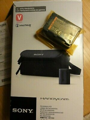 sony original handycam  rechargable battery NP-FV30 A new