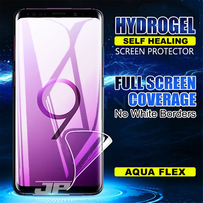 Samsung Galaxy S10e S8 S9 S10 Plus S7 Edge HYDROGEL Full Cover Screen Protector